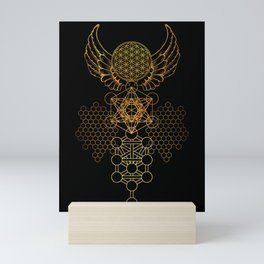 Abstract Sacred Geometry Mini Art Print