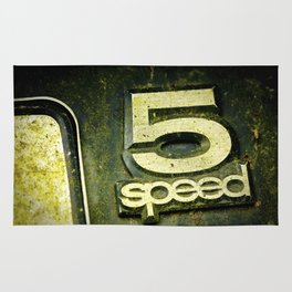 5 speed Rug