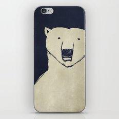 Polar Bear - Stars Up Above iPhone & iPod Skin