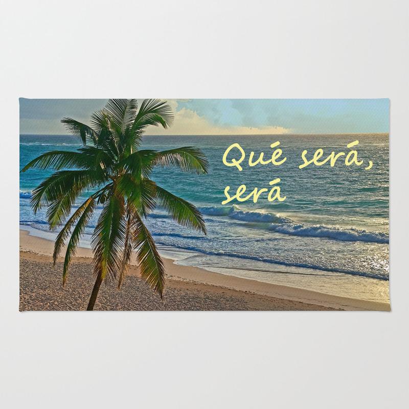 Que Sera, Sera Rug by Catspaws RUG968275