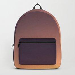 LA sunset sky gradient 041 Backpack