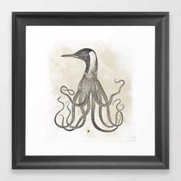 The Octo-Loon Framed Art Print