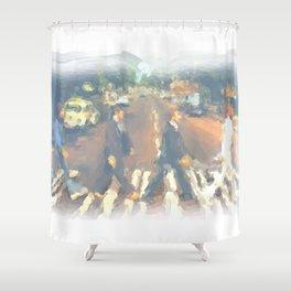 John, Paul, George, Ringo Shower Curtain