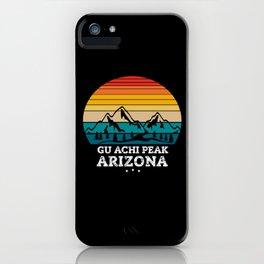 GU ACHI PEAK Arizona iPhone Case