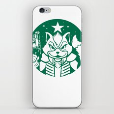 Starfox Coffee iPhone & iPod Skin