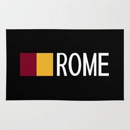 Italy: Roman Flag & Rome Rug