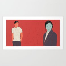 TOGETHER-3 Art Print
