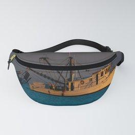 Tucker J fishing boat Fanny Pack