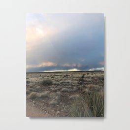 Quiet Desert Storm Metal Print