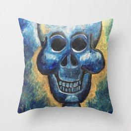 Happy Bones Throw Pillow