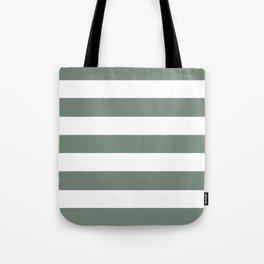 Xanadu - solid color - white stripes pattern Tote Bag