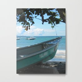 Yuliany on Shore Metal Print