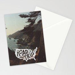 Road Trip USA - big sur Stationery Cards