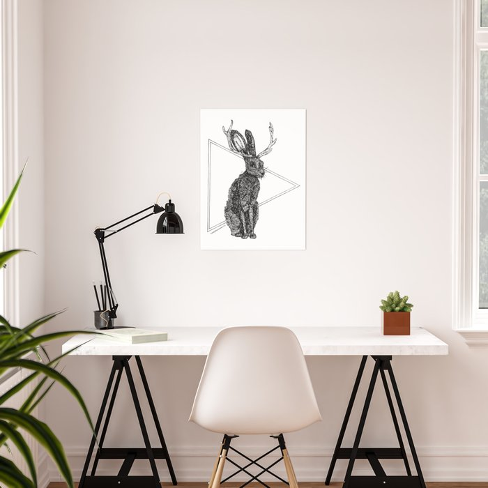 Jackalope - Spirit Animal Poster