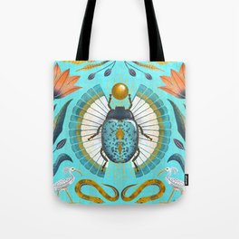 Egyptian Scarab Tote Bag