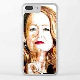 Zelda Spellman Clear iPhone Case