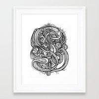 evolution Framed Art Prints featuring Evolution by Irina Vinnik