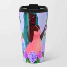 Turquoise Twists Travel Mug