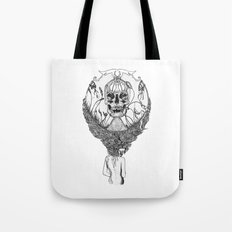 lady death Tote Bag