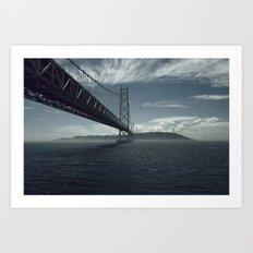 Bridge theory Art Print