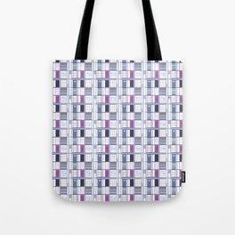 Uvas-Cuadricula  Tote Bag