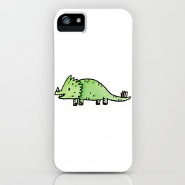 It's Dino Time iPhone Case