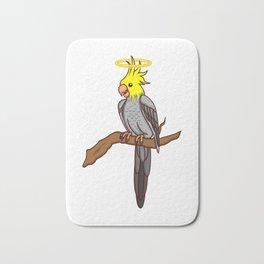 Cockatiel Gifts For Bird Lovers Bath Mat