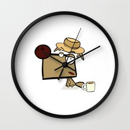 """Dialog with the dog N52 - """"Detective"""" Wall Clock"""