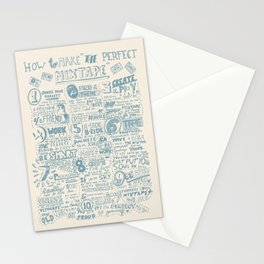 How to make the perfect mixtape Stationery Cards