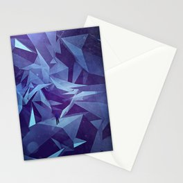 Polygon Jungle Stationery Cards
