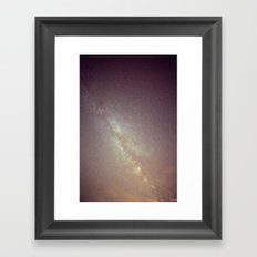Falling Through Framed Art Print