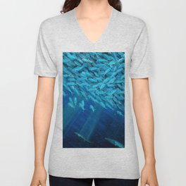 Oceans of Plenty Unisex V-Neck