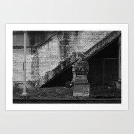 virtues ~ fld(X part ii) Art Print