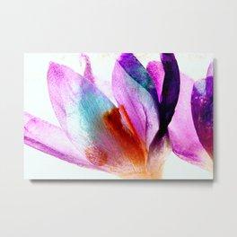 Frozen Flowers 3 Metal Print