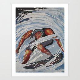 SUFFER MARIO BRUNET LORANCA Art Print