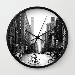 New York City Streets Wall Clock