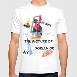 The Picture of Dorian Gray PSTR collage T-shirt