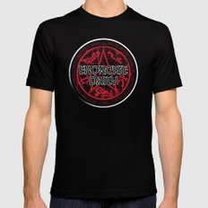 Exorcise Daily Mens Fitted Tee Black MEDIUM