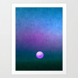 Gradient Sky #3 Art Print