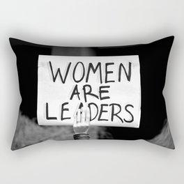 Women are Leaders Rectangular Pillow