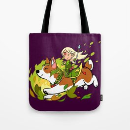 Corgi and Fairy Tote Bag