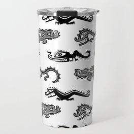 Alligator Dance Party Travel Mug