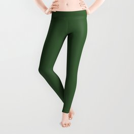 Kiss of Spring ~ Green Coordinating Solid Leggings