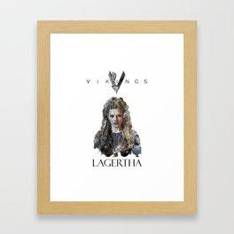 Lagertha - Vikings Framed Art Print