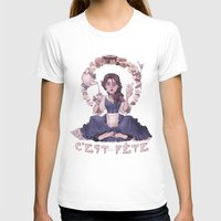 macaroon T-shirts featuring Enchanting  by Lettie Bug