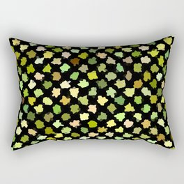 Abstract Color Rectangular Pillow