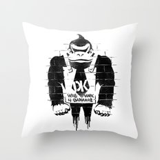 DONKSY Throw Pillow