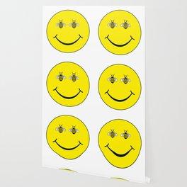 Bee happy Wallpaper
