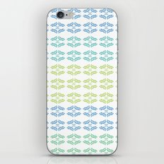 ORGANIC & NATURE (BLUES) iPhone & iPod Skin