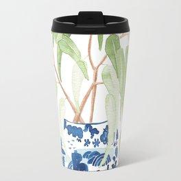 Ginger Jar + Eucalyptus Travel Mug